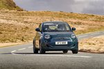 Fiat 500e 2021 front tracking