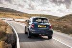 Fiat 500e 2021 rear cornering