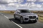 Jaguar F-Pace 2021 front right tracking