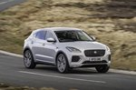 Jaguar E-Pace 2021 front right tracking