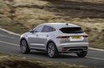 Jaguar E-Pace 2021 rear left tracking