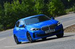 BMW 1 Series 2021 front right cornering