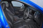BMW 1 Series 2021 interior front seats