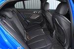 BMW 1 Series 2021 interior back seats