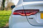 Jaguar XE 2021 rear light detail