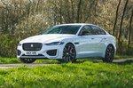Jaguar XE 2021 front left tracking