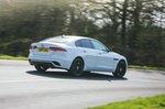 Jaguar XE 2021 rear right tracking