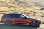 Mercedes-AMG E63 S Estate 2021 right tracking
