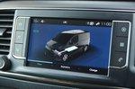 Citroën e-Dispatch 2021 interior infotainment