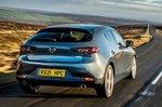 Mazda 3 2021 rear tracking