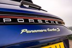 Porsche Panamera Turbo S 2021 badge detail