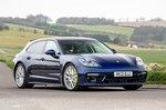Porsche Panamera Turbo S 2021 front right tracking