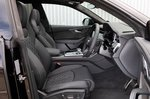 Audi SQ8 2021 interior front seats