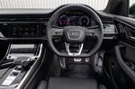 Audi SQ8 2021 interior dashboard