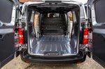 Toyota Proace Electric 2021 back doors open