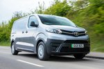 Toyota Proace Electric 2021 front