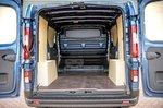 Renault Trafic 2021 rear doors open