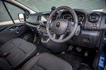 Renault Trafic 2021 interior front seats