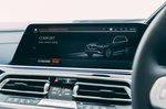 Alpina XB7 2021 interior infotainment