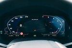 Alpina XB7 2021 interior driver display