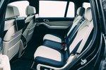 Alpina XB7 2021 interior rear seats