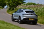 Aston Martin DBX 2021 rear tracking