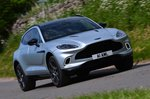 Aston Martin DBX 2021 front right tracking