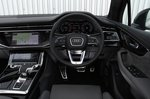 Audi Q7 2021 interior dashboard