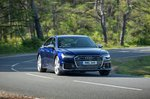 Audi A6 Saloon 2021 front cornering