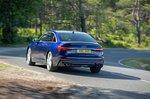 Audi A6 Saloon 2021 rear cornering