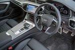 Audi A6 Saloon 2021 interior dashboard