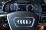 Audi A6 Saloon 2021 interior driver display