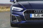 Audi A5 Sportback 2021 headlight detail