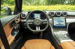 Mercedes C-Class 2021 interior dashboard