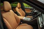 Mercedes C-Class 2021 interior front seats