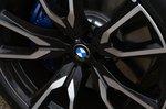 BMW X7 2021 alloy wheel detail