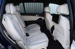 BMW X7 2021 interior rear seats