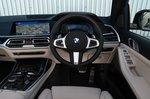 BMW X7 2021 interior dashboard