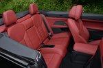 BMW 4 Series Convertible 2021 interior rear seats