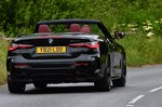 BMW 4 Series Convertible 2021 rear tracking
