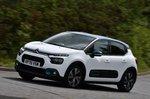 Citroën C3 2021 RHD front left tracking