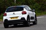 Citroën C3 2021 RHD right rear cornering