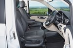 Mercedes V-Class Marco Polo 2021 interior front seats