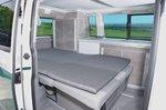 Volkswagen California 2021 interior bed