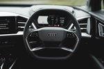 Audi Q4 e-tron 2021 interior dashboard