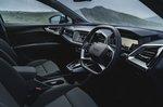 Audi Q4 e-tron 2021 interior front seats