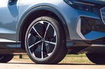 Audi Q4 Sportback 2021 alloy wheel detail