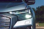 Audi Q4 Sportback 2021 headlight detail
