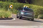 Audi Q4 Sportback 2021 rear cornering