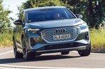 Audi Q4 Sportback 2021 front cornering